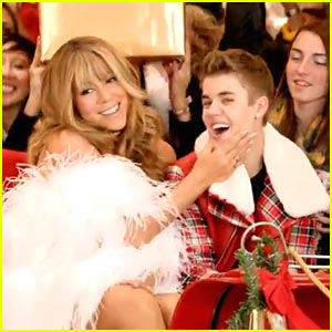 Justin Bieber Mariah Carey All I Want for Christmas Is You