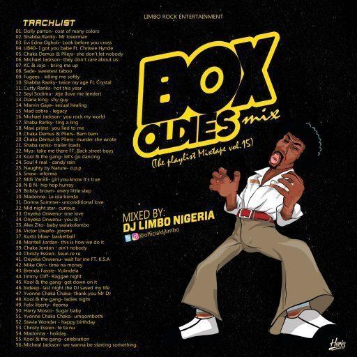 DJ Limbo Box Oldies Foreign Old School Mix (The Playlist Mixtape Vol.15)