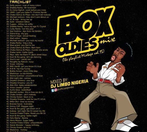 DJ Limbo Box Oldies Foreign Old School Mix (The Playlist Mixtape Vol.15)