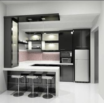Perawatan Dapur Bersih Minimalis Modern