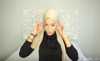 tutorial hijab pertama