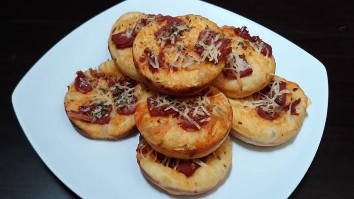 resep membuat mini pizza ayam