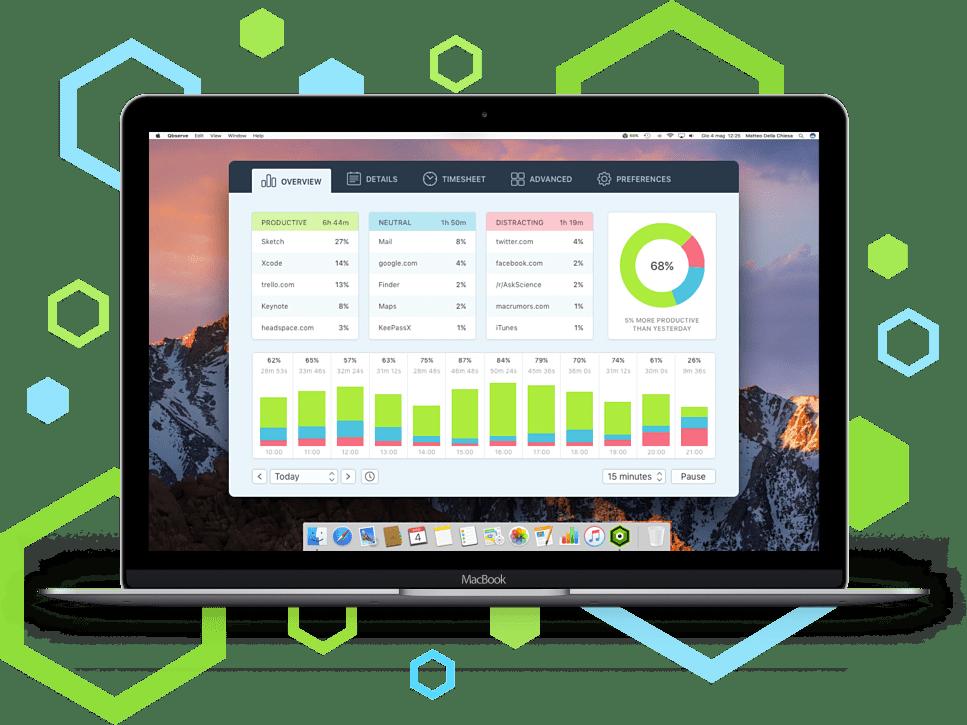 Qbserve Mac 破解版 优秀的时间跟踪器-麦氪派(WaitsUn.com | 爱情守望者)