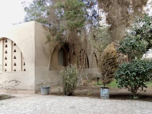 Wissa Wassef Art Center garden