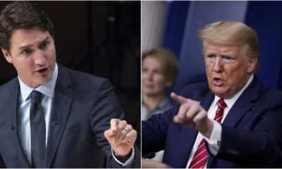 primer ministro de Canadá y el presidente de Estados Unidos