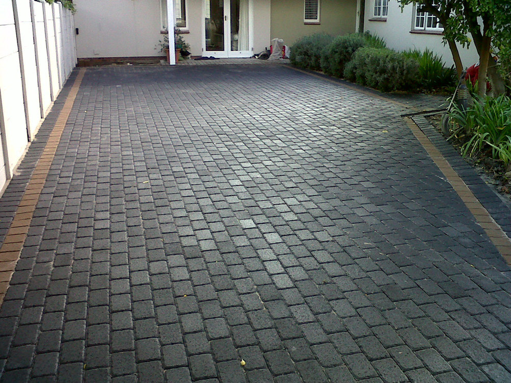 Walkway And Entrance Paving To Design