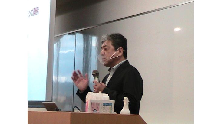 関西大学 食のリスクマネジメント講座 清水講師の講義