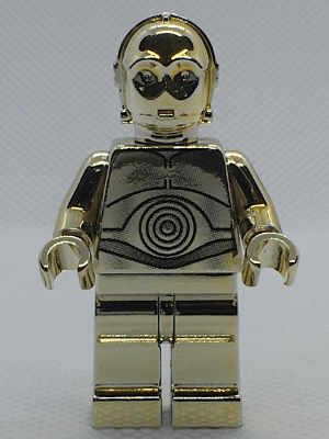 What is the value of a Lego Chrome Gold C 3PO    Quora