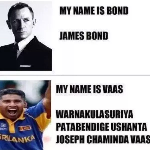 What Are Some Good Memes Of The Form The Name S Bond James Bond