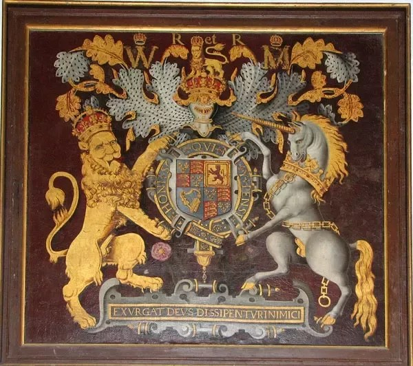 Image of: Coat the British Coat Of Arms Under The Stuart Dynasty Note The Continued Claim On France And The Motto exurgat Deus Dissipentur Inimici From Psalm 68 Quora Why Is Scotlands National Animal Unicorn Quora