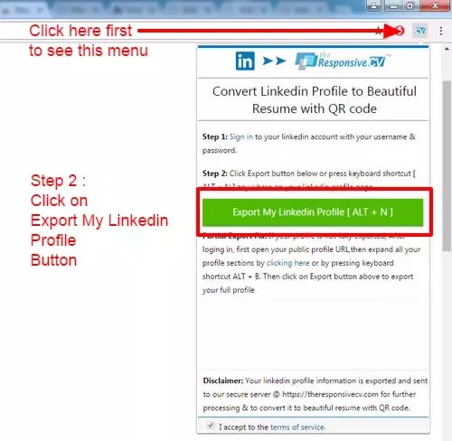 Is There A Useful Tool For Converting A Linkedin Profile