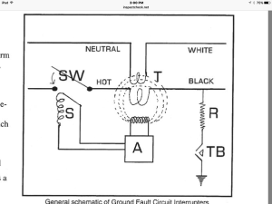 What is the wiring schematic of a GFCI?  Quora