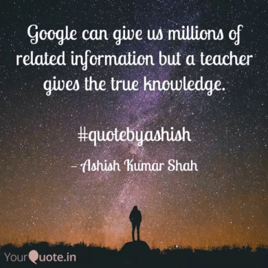 What are the best quotes on teachers    Quora The quote is on quote series  quotebyashish
