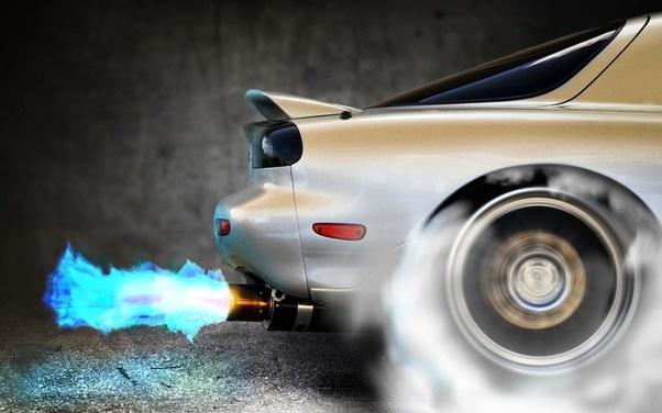 an exhaust will make a car sound louder
