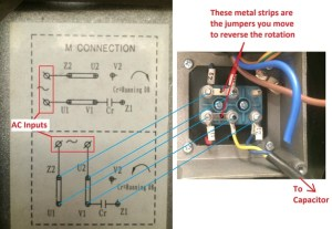 How to reverse the rotation of single phase 220v motor  Quora