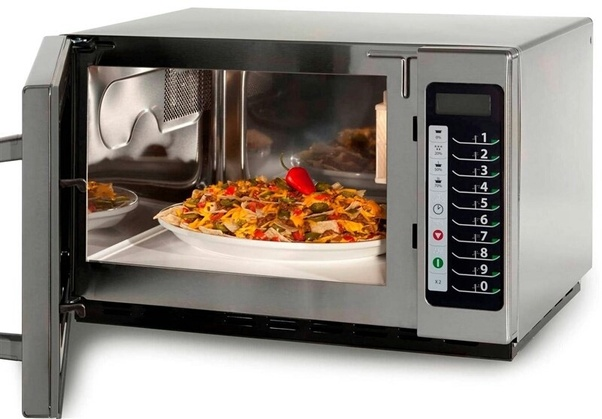 is food prepared in the microwave any