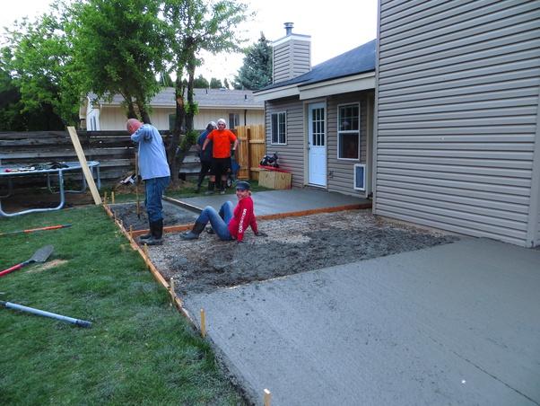do you need a permit to pour concrete