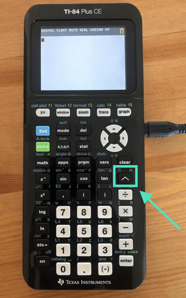 How To Type Math Pi Math On A Ti 84 Plus Ce Calculator Quora