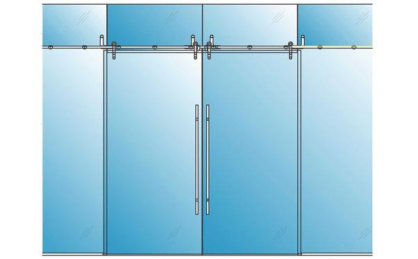 standard sliding glass door