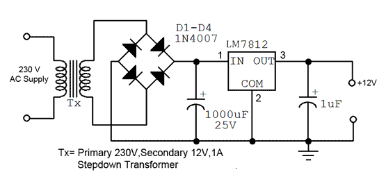 How To Power A 12v Bulb With A 220v AC With A Resistor