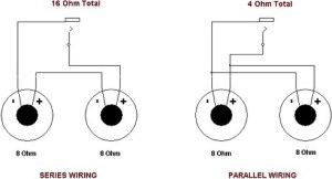 What diagram do I use to have four 8ohm speakers with a 4ohm receiver?  Quora