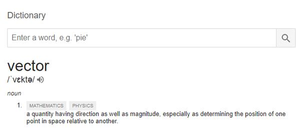 Physics Example Sentence