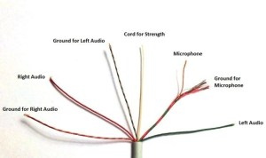 How to change earphone jacks with 8 wires? I have Samsung
