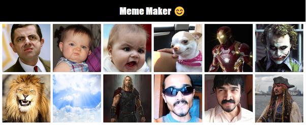 Meme Maker Tone