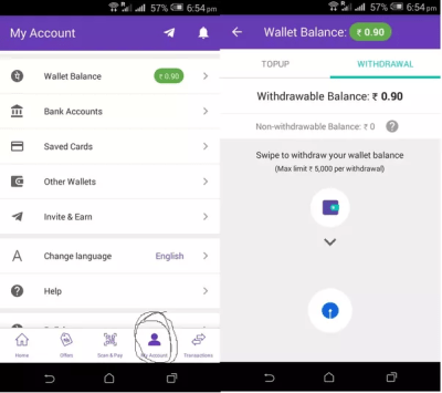 Does the PhonePe app not charge for money transferred from ...