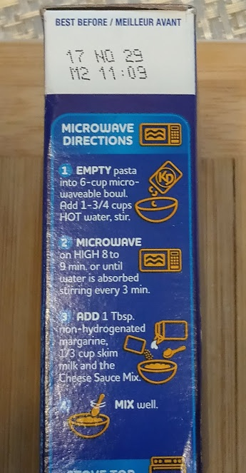 noodles for kraft macaroni and cheese