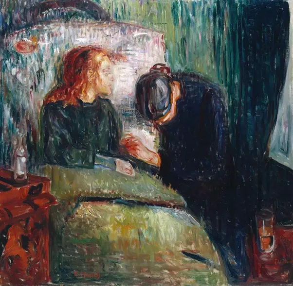What are some examples of sad paintings made by famous artists    Quora Edvard Munch  The sick child