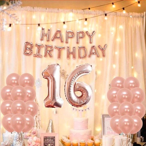 What Are 16th Birthday Party Ideas In February Uk Quora