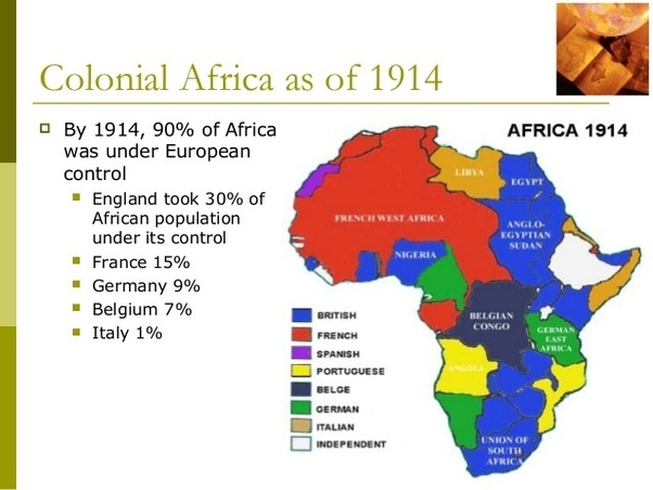 Central Colonization Africa