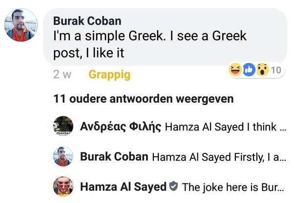 Why Do Turkish People Write Things Like Nice Greek Song Under