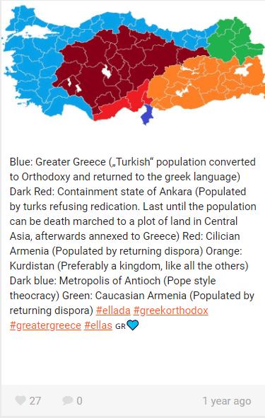 Since Turkey Is Built On Greek Armenian And Kurdish Land Isn T
