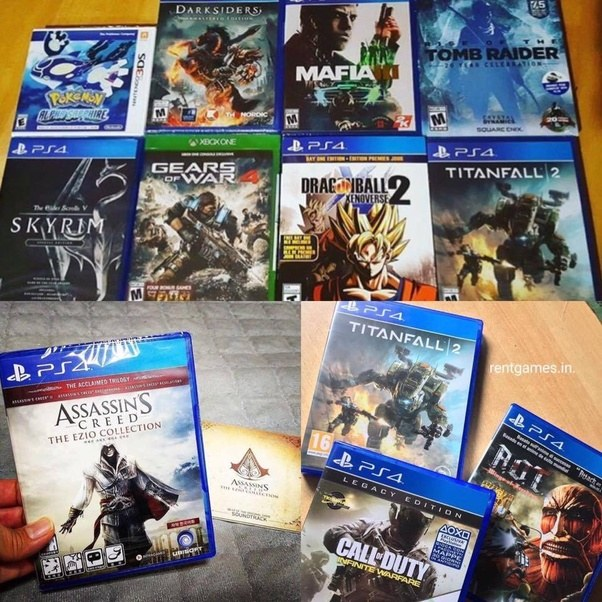 Is renting out the PS4 games online a good idea    Quora Try Rentgames Get access to the new titles on release unlimited swaps  free  delivery  no late fees  Choose monthly or you can customize your plan