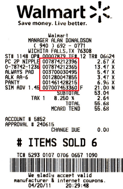 Why Can I Not Find Out What Sku Number An Item Is Using In A