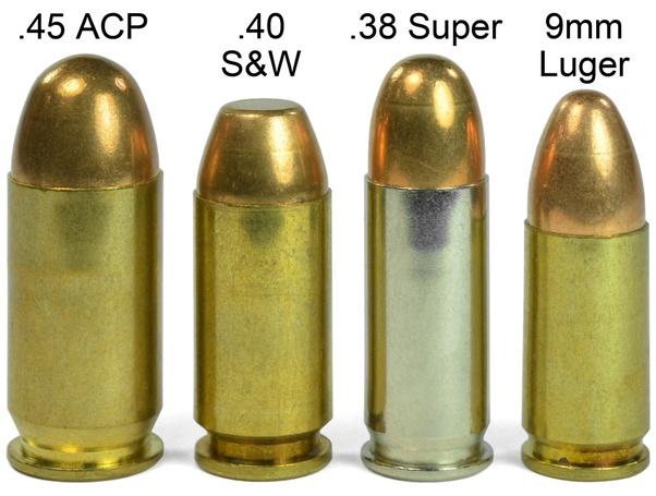 40 38 Sp Vs Cal Ballistics
