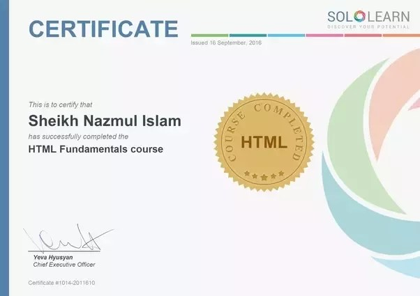Does Sololearn Certificate Has Any Value Quora