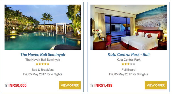 Economical Honeymoon Packages Abroad