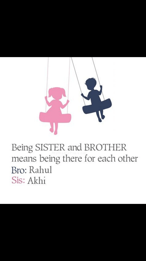 Describe Sibling Your Words