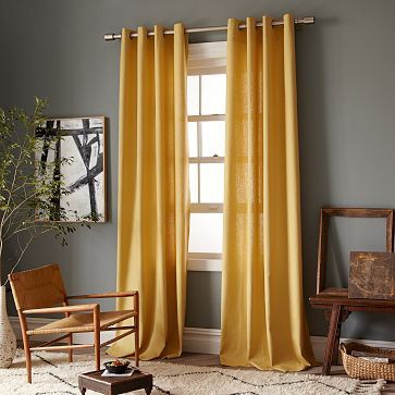 what colour curtains go with off white