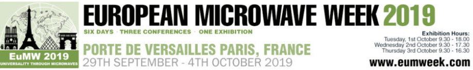 QP Microwave attends EUMW 2019 in Paris