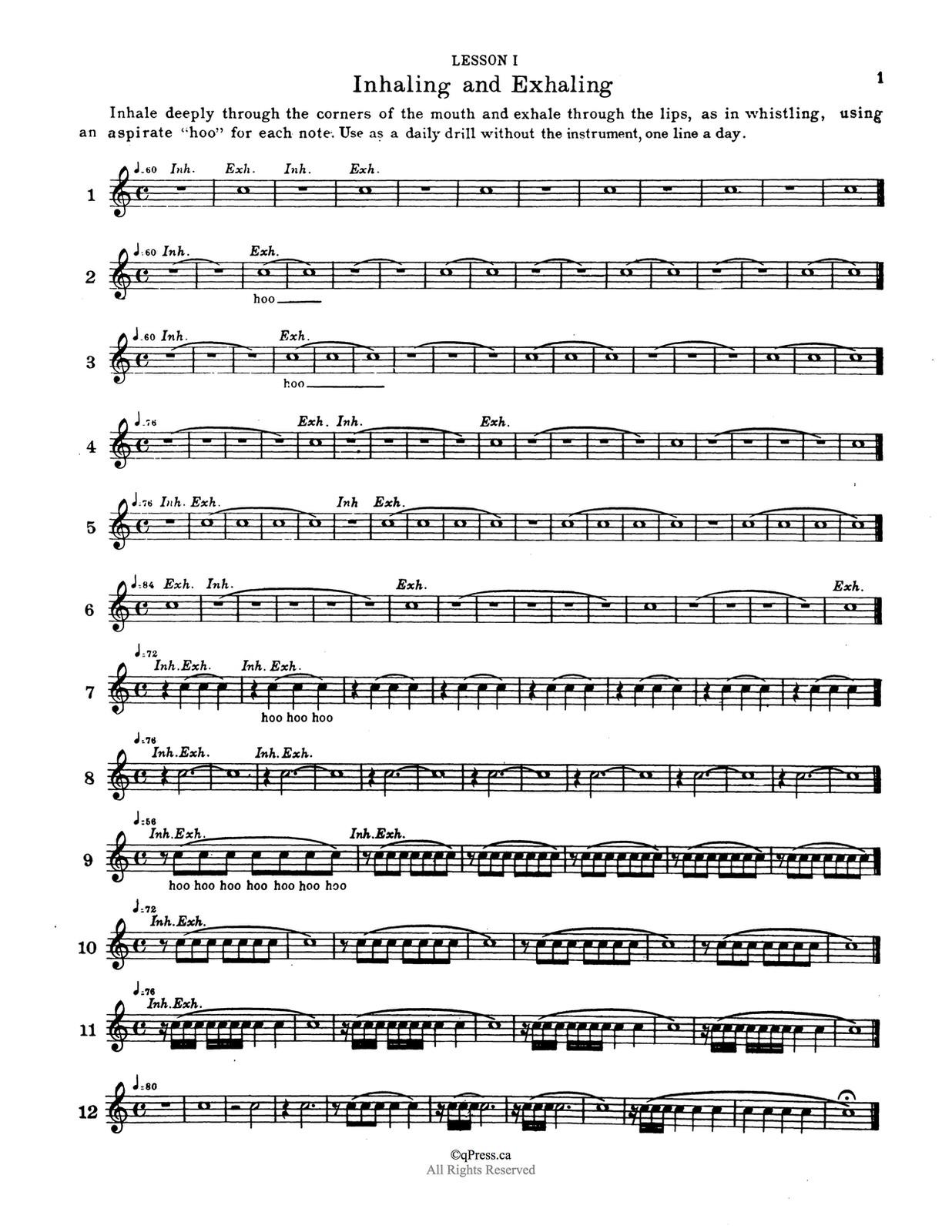 Scientific Method For Cornet Amp Trumpet By Eby Walter M