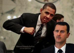 Damaskus zerstört U.S. Senator Barack Obama poses alongside Lugar at a Senate Committee in Washington