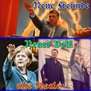 Neue Freunde neues Volk alte Ideale as neue Volk lauert in der Ukraine Merkel qpress Klitschko Umsturz