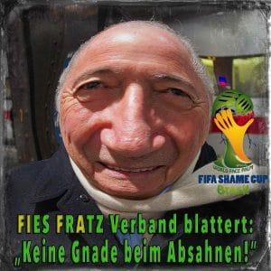 Blatter, Sepp FIFA Absahner Brasilien WM2014 Bestechung Fussball