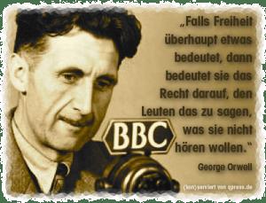 Orwell George Falls Freiheit etwas bedeutet qpress