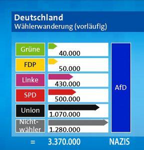 Altparteien wollen 3,5 Mio. Nazis von der AfD zurück