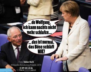 Merkel gen EU entsorgen … um jeden Preis